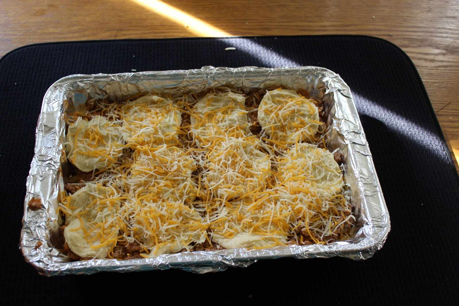 Beef-And-Biscuit Casserole Recipe