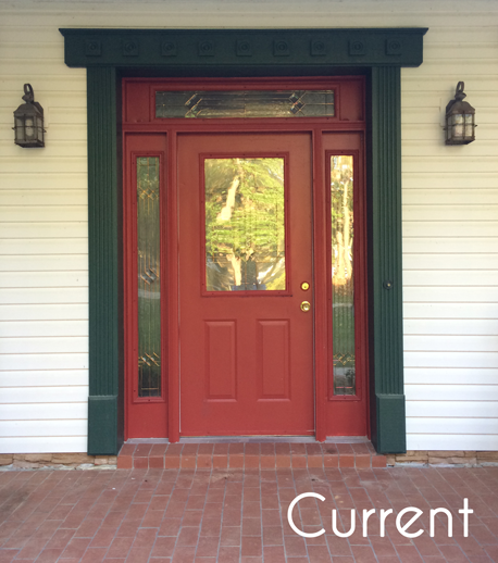 What Does A Red Front Door Mean: Sherwin Williams Brick Red Paint