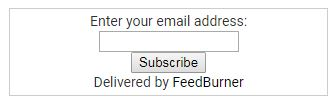 Email Subscription widget apne blog me kaise lagaye ?