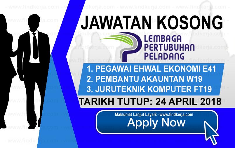 Jawatan Kerja Kosong LPP - Lembaga Pertubuhan Peladang logo www.findkerja.com april 2018