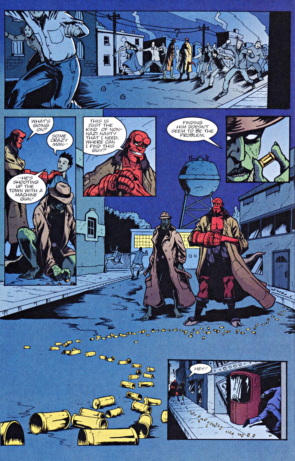 Read online Hellboy: Weird Tales comic -  Issue #7 - 12