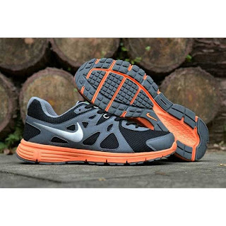 Sepatu Nike Revolution 2 Original warna dark grey