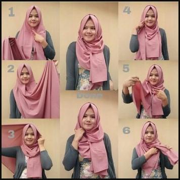Cara Memakai Hijab Pashmina Simple Ala Nissa Sabyan Hijabfest