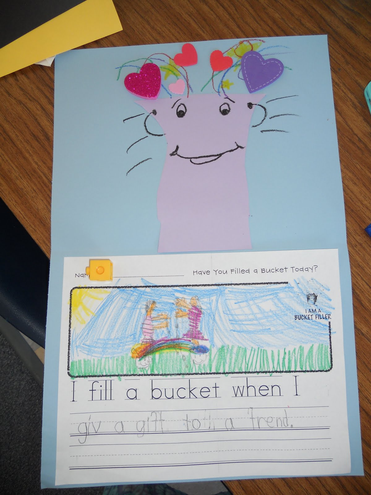 Teacher Bits And Bobs Bucket Fillers Activity
