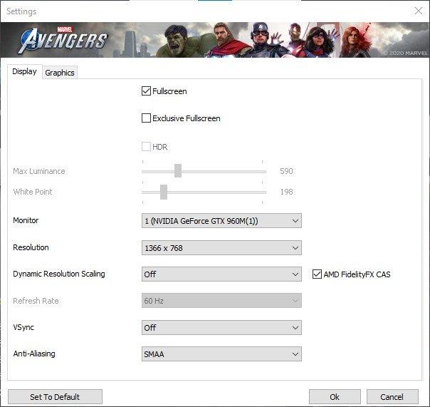 Marvel Avengers En İyi Grafik Ayarları 2020!