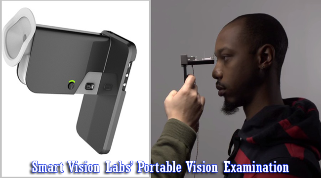 Smartphone Camera Used for Portable Vision Examination by Smart Vision Labs' SVOne