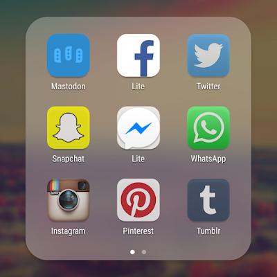 applications réseaux sociaux