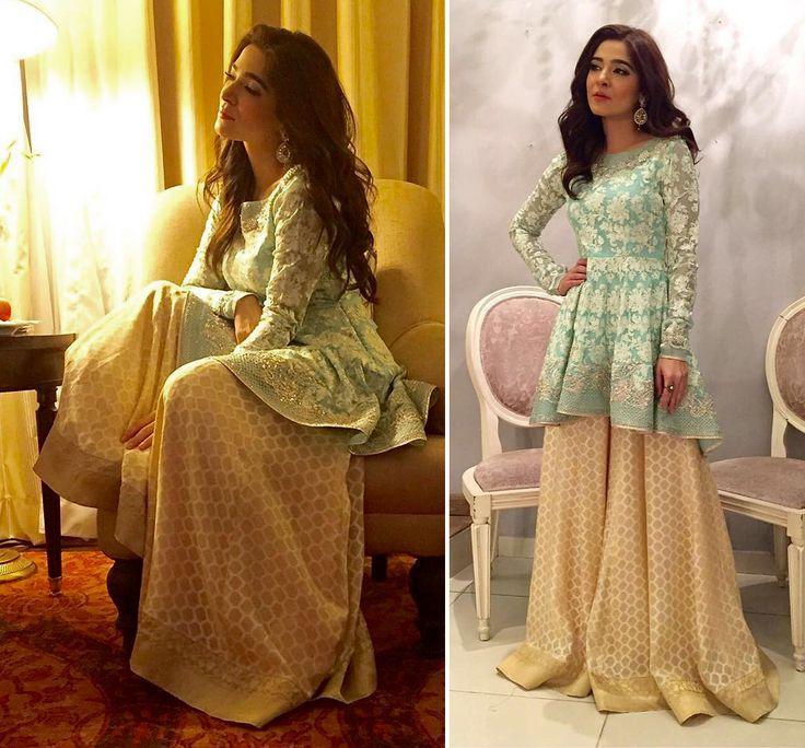 Latest Pakistani Short Frocks Designs 2018