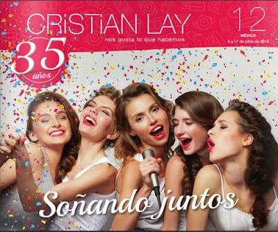 Campaña 12 Cristian Lay 35 Aniversario 2016