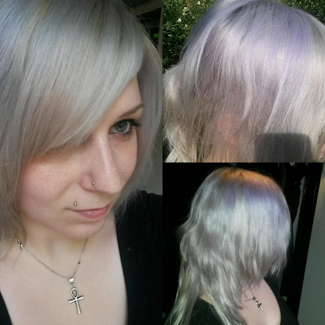 permanent grå hårfarve