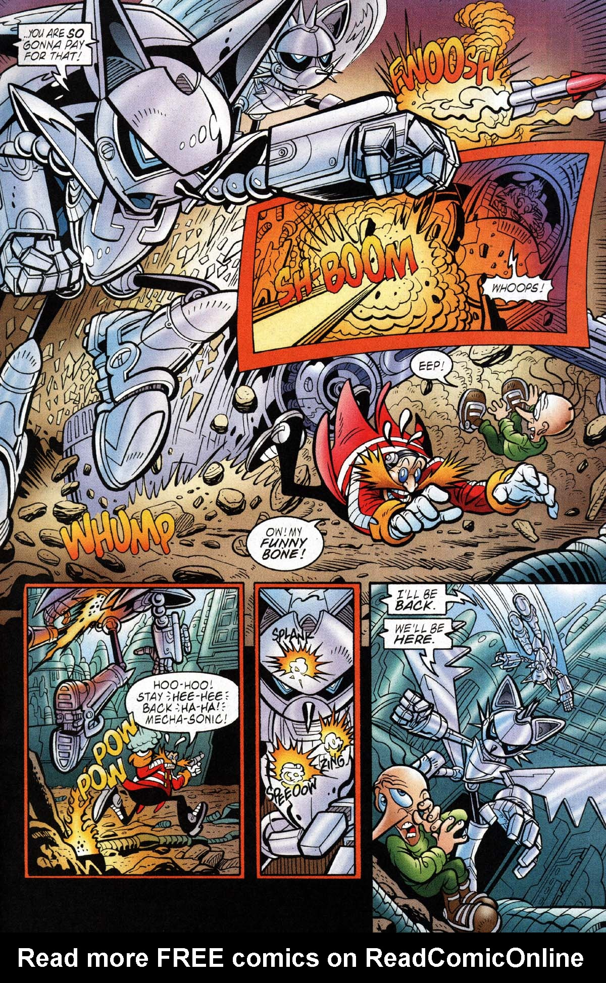 Read online Sonic The Hedgehog comic -  Issue #118 - 11