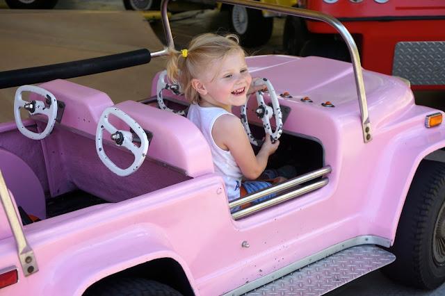 Stella's Pink Jeep