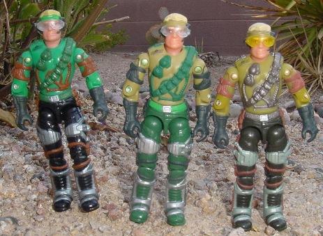 2002 Mirage, 2003, Hoverstrike Driver, Mega Marines, Variants
