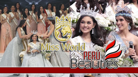 Princess Megonondo es Miss World Indonesia 2019