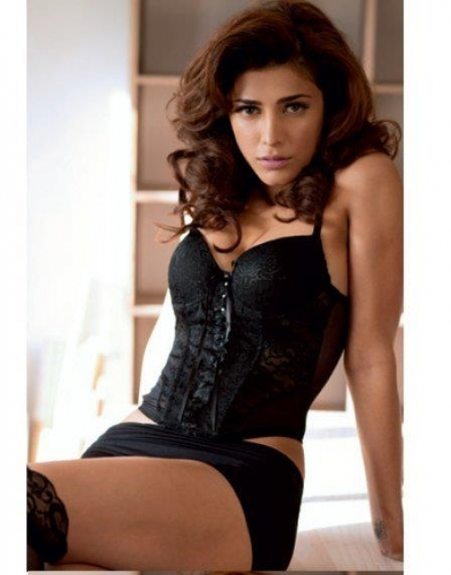 exotic hot gorgeous Shruthi hassan spicy photoshoot for maxim