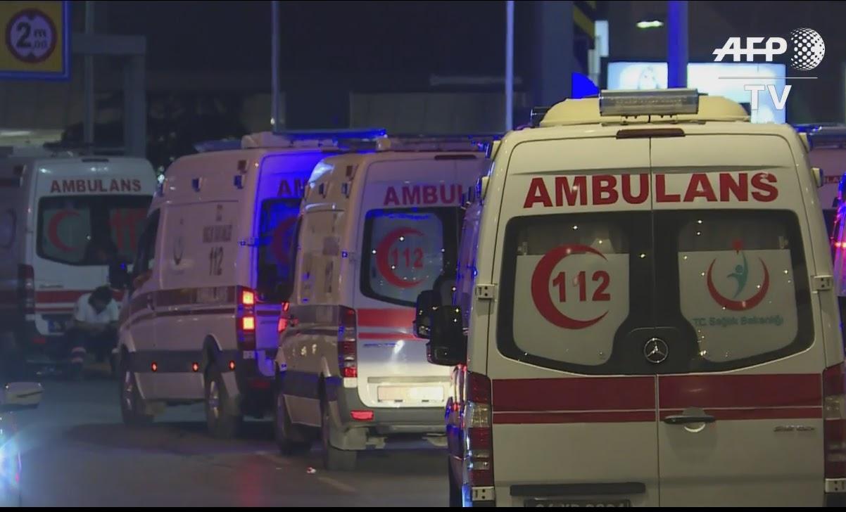 アタチュルク国際空港でテロ事件...