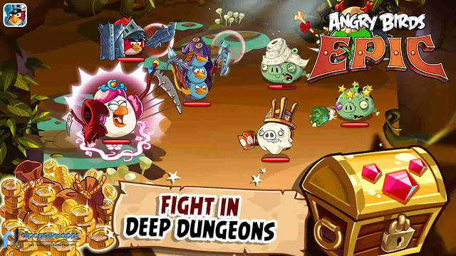Download Angry Birds Epic APK Updated Last Version