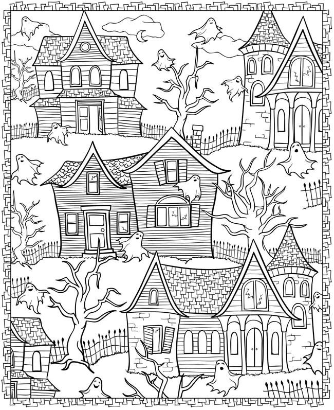 Halloween Desenhos Para Colorir So Escola
