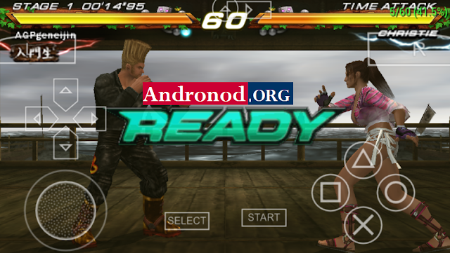 Tekken 7 ISO PPSSPP+Save Data Apk Terbaru (High Compress)