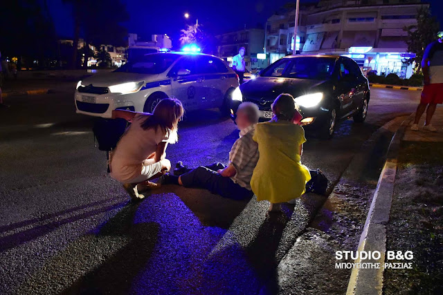 Τραυματισμός από παράσυρση πεζού στο Ναύπλιο (βίντεο)