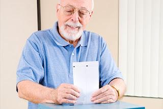 elderly voting statistics