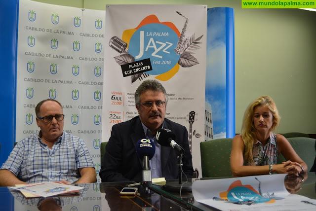 'La Palma Jazz Fest Plazas con Encanto' apuesta por la presencia de artistas internacionales en cuatro rincones emblemáticos de la isla