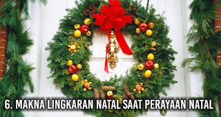 Makna Lingkaran Natal saat perayaan Natal