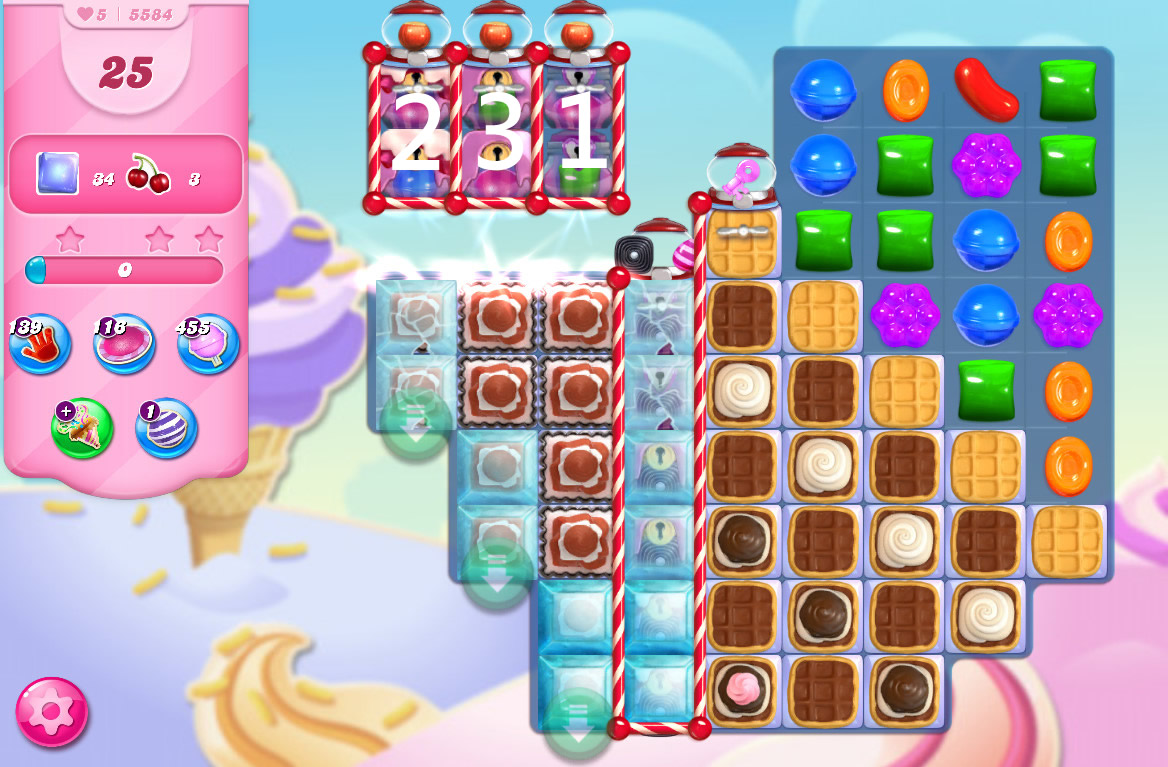Candy Crush Saga level 5584