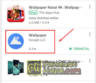 ikon wallpaper by google