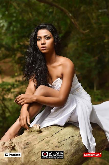 Hot Model Harini Kawyanjani Perera