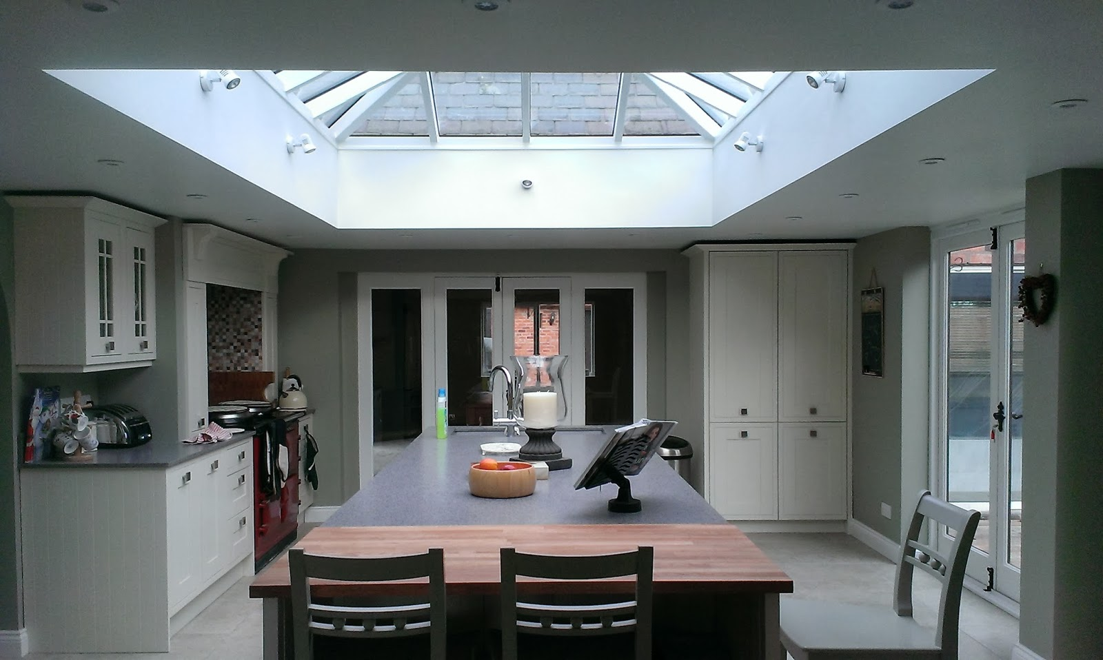 star gazing roof lantern for your home lantern kitchen lighting Roof Lantern Lantern Light Kitchen Lisa Melvin Design