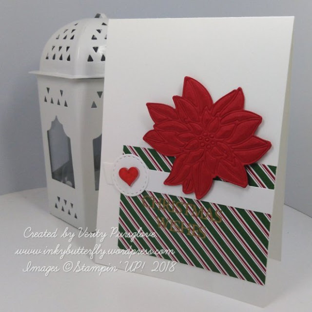 Detailed Poinsettias Thinlits dies by Stampin' Up!