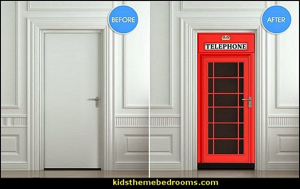 Decorating theme bedrooms - Maries Manor: phone booth