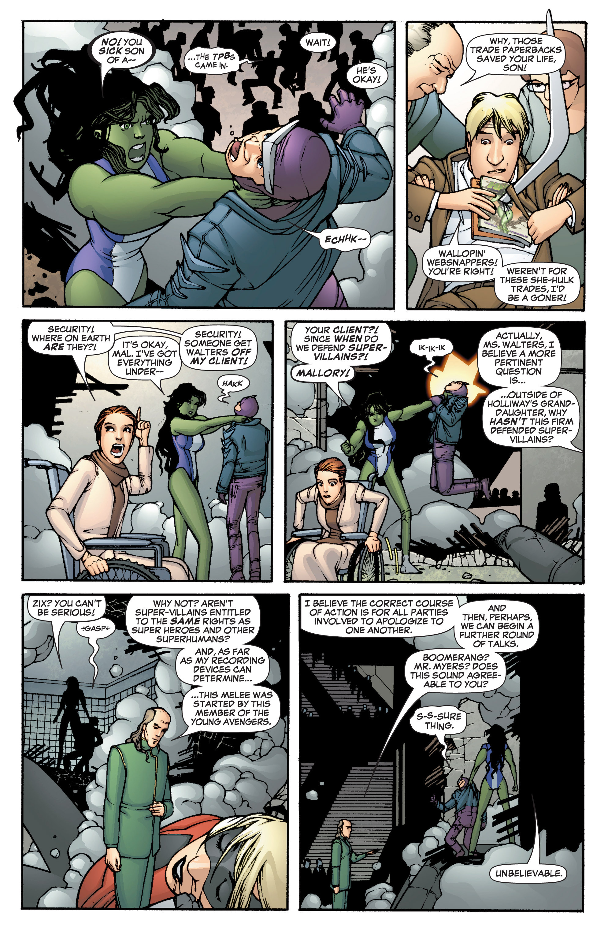 Read online She-Hulk (2005) comic -  Issue #1 - 15