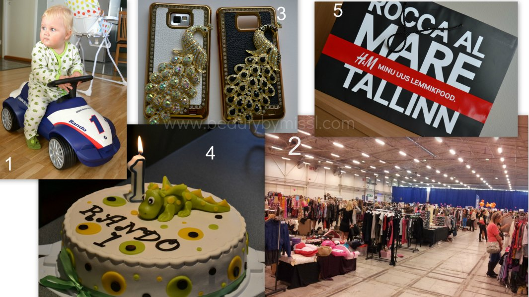 H&M Tallinnas, birthday, Buduaari turg