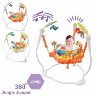 BabyMom Neolife - Jumper Jungle Jumbo จัมเปอร์ รุ่น Jungle เก้าอี้กระโดด 360 องศา