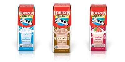 Horizon Organic Shelf Stable Milk