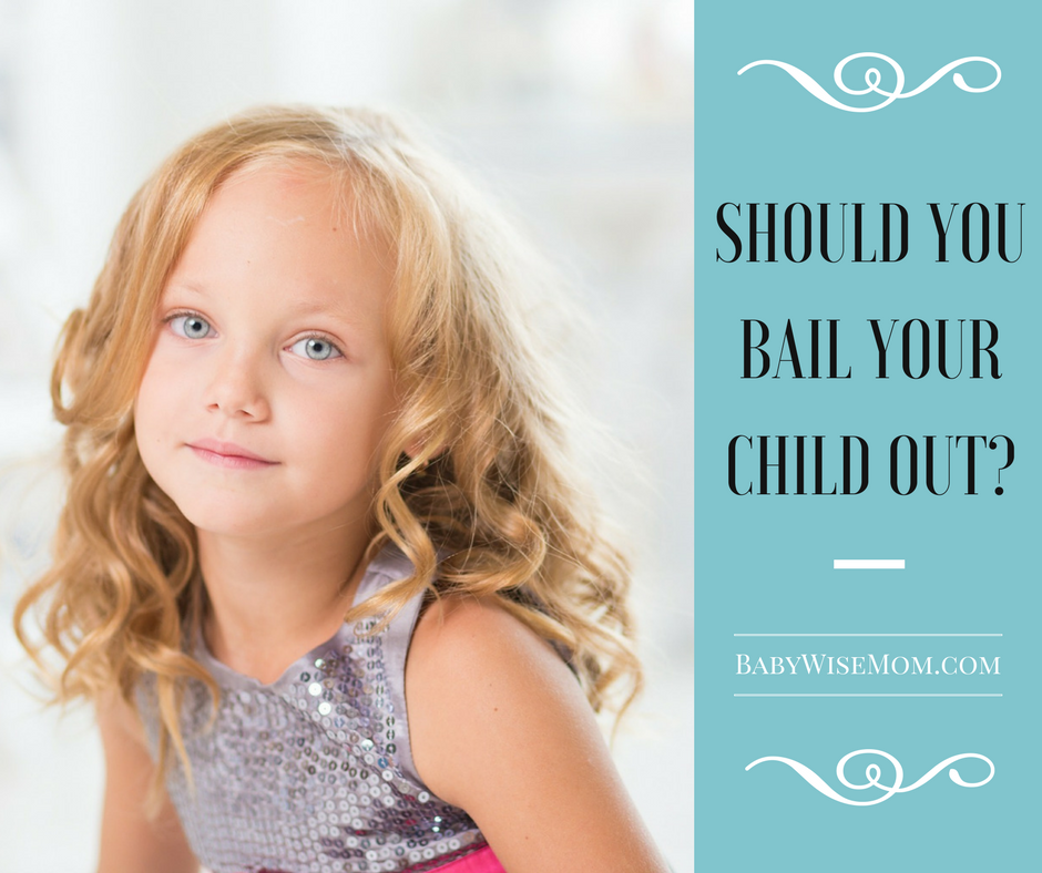 Should You Bail Your Child Out? Click to read