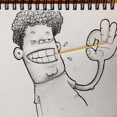 señor  y un palillo de dientes