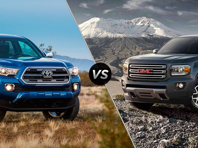 Gmc-Canyon-Vs-Toyota-Tacoma-2005