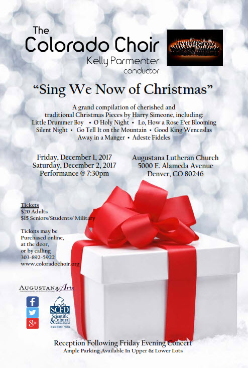 get into the christmas spirit with the colorado choir at their free concert preview nov 19 - How To Get Into The Christmas Spirit