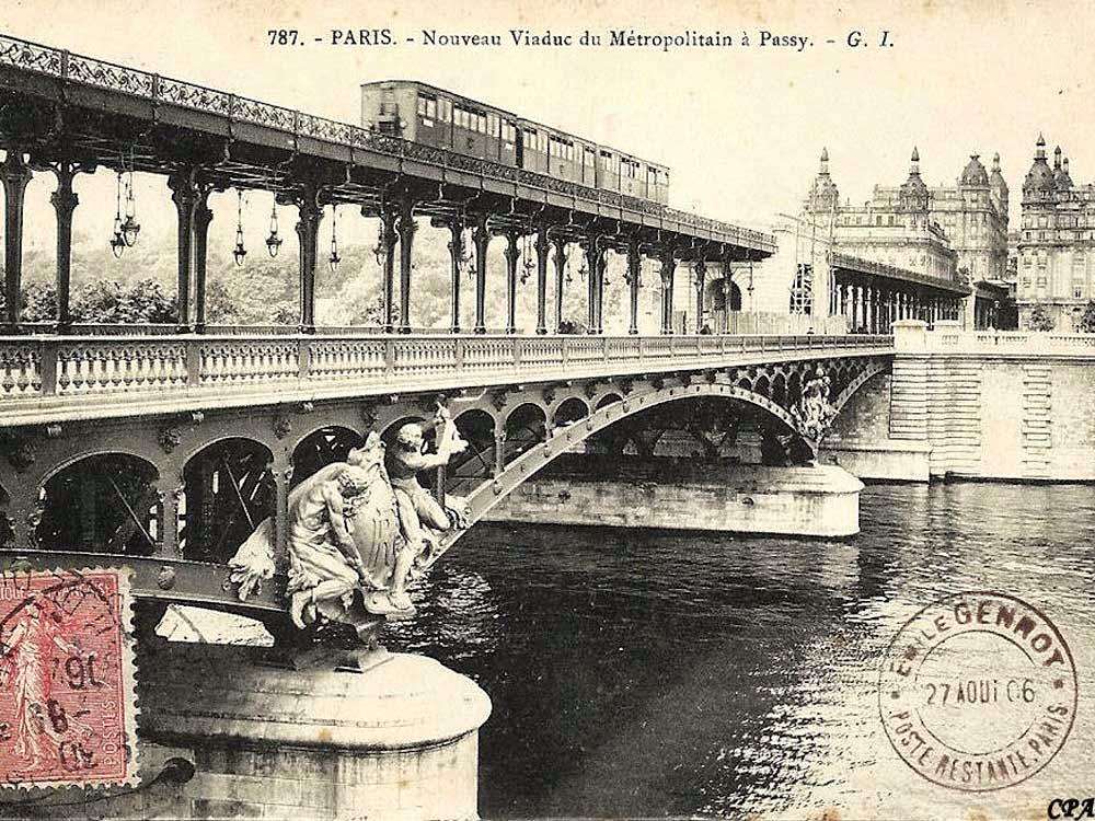 Days On The Claise Pont De Bir Hakeim