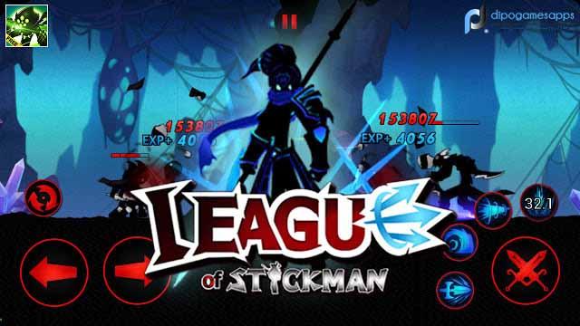 Download League of Stickman: Warriors MOD APK News Version