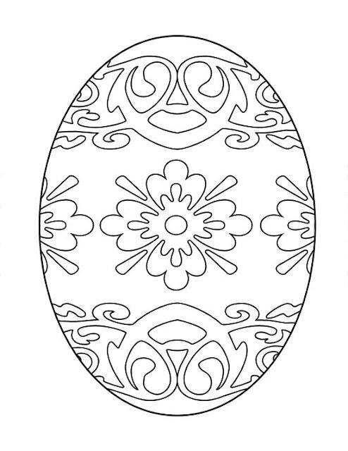 Diy handmade jajka szablon do druku wycinanki witra for Easter mosaic coloring pages