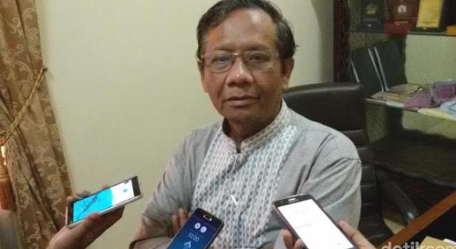 Dipolisikan Pengacara Setya Novanto, Begini Tanggapan Mahfud MD