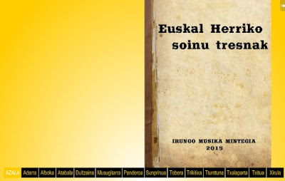 EUSKAL HERRIKO SOINU TRESNAK