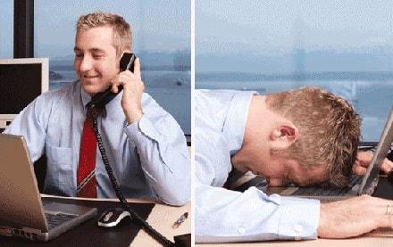 Imagem de uma pessoa proativa no trabalho