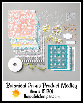 Stampin' Up! Botanical Prints Product Medley | Nicole Steele The Joyful Stamper