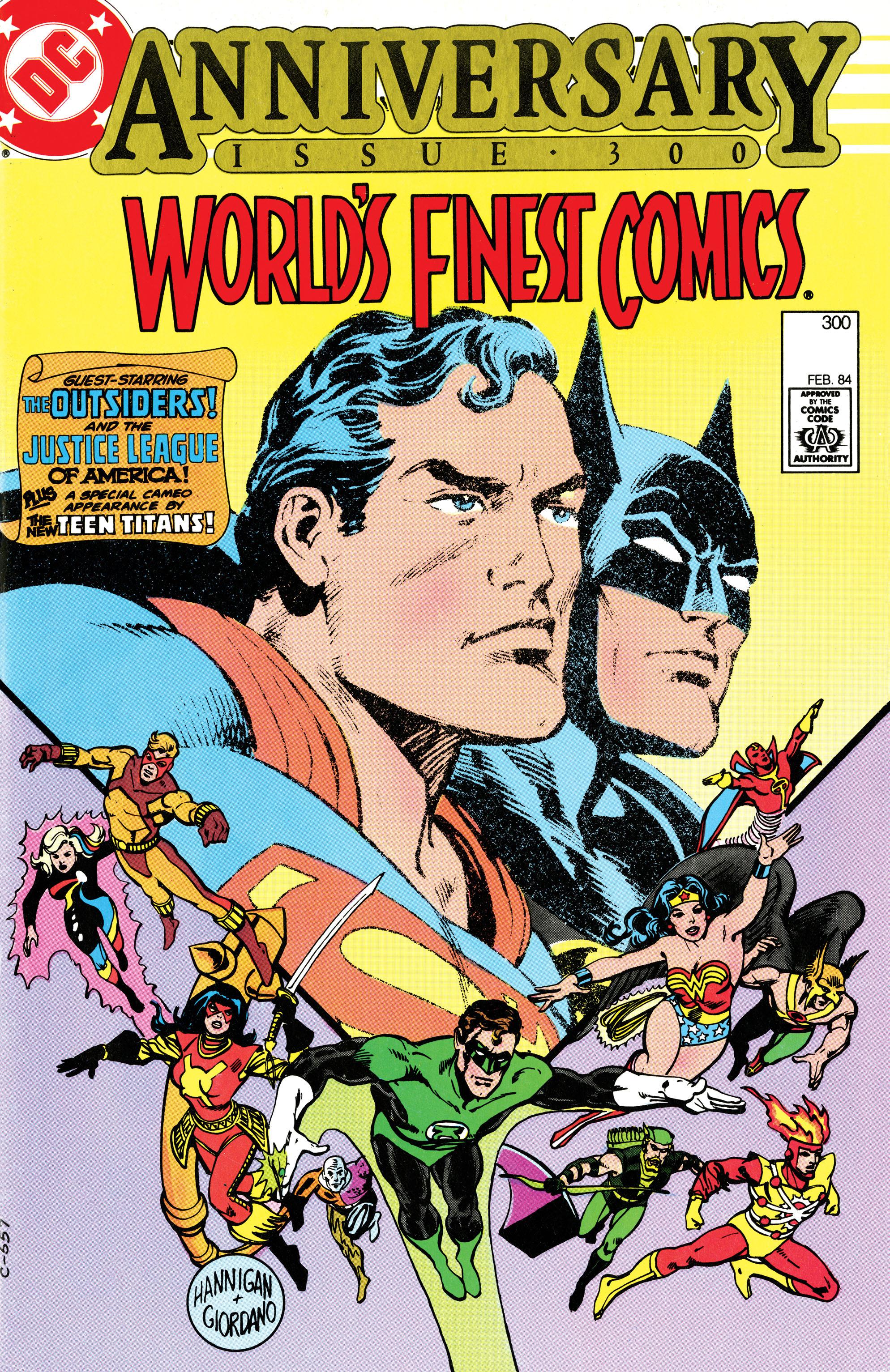 Read online World's Finest Comics comic -  Issue #300 - 1