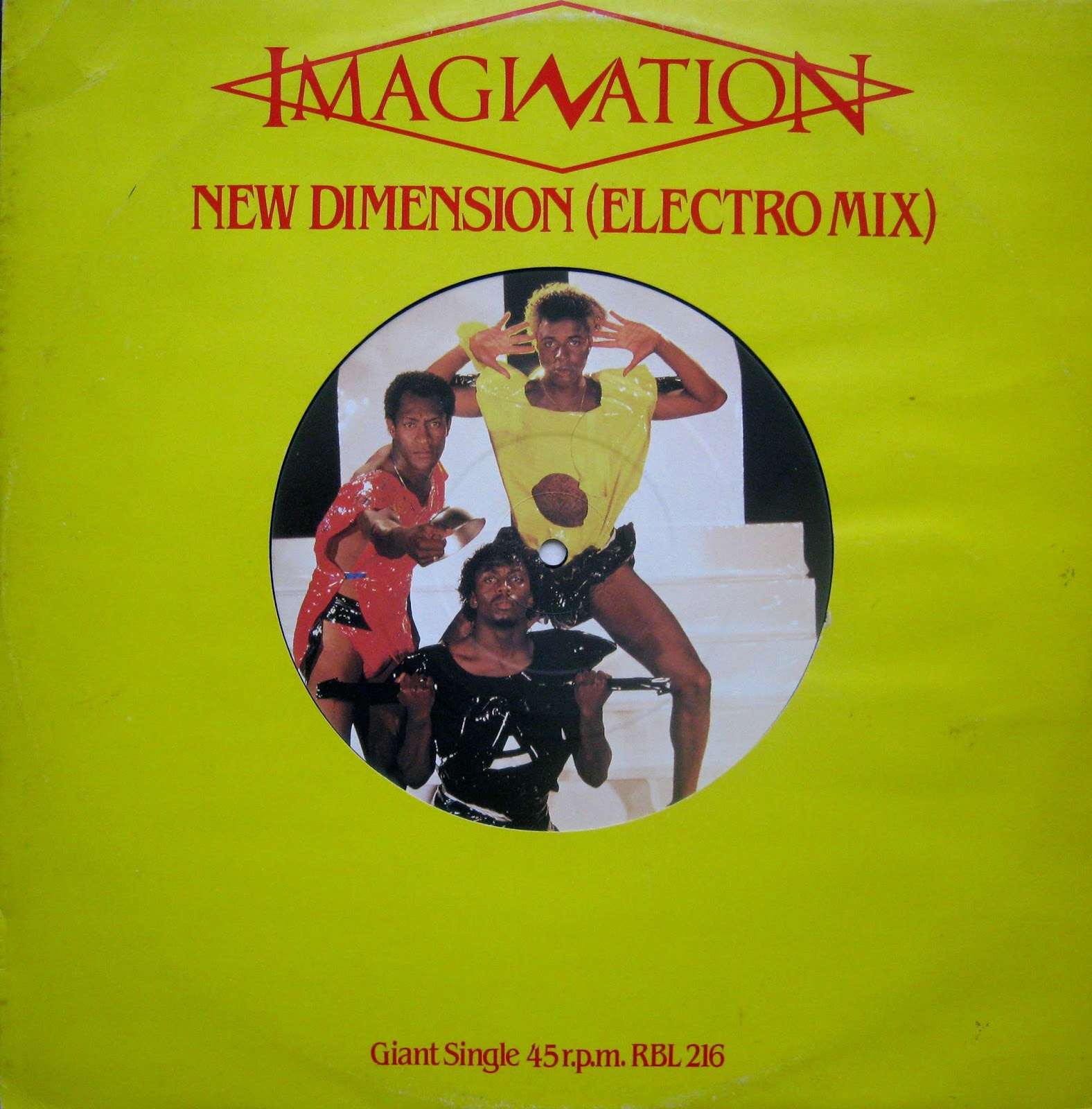 Music Rewind Discografia Imagination 1981 2007